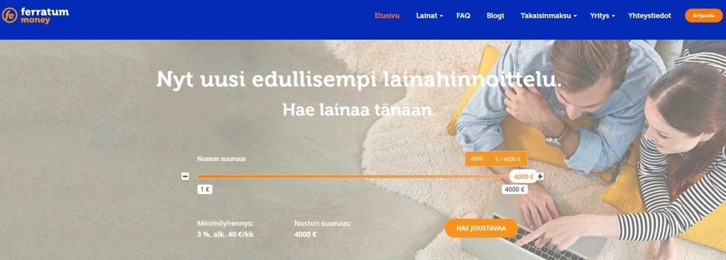 Kokemuksia Ferratum lainoista on löydettävissä verkossa lähes jokaisella keskustelupalstalla.